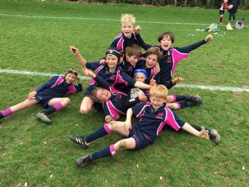 U9 Rugby boys storm the National Finals